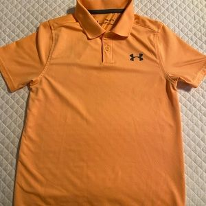 Boys Youth Small Under Armour Polo Shirt